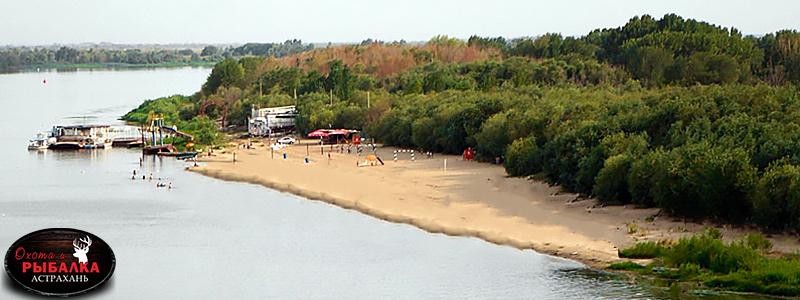 Базы отдыха с пляжем в Астрахани